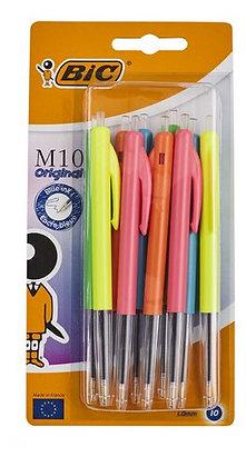 BIC M10 stylo à bille Colors 10pc
