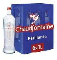 CHAUDFONTAINE eau pétillante 6x1L