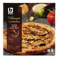 BONI SELECTION pizza pom./melanzane 390g