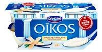 DANONE OIKOS yaourt grec vanille 4x125g