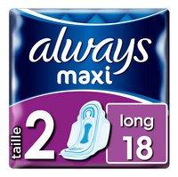 ALWAYS Long maxi serv.hyg. 18pc.