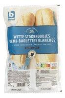BONI SELECTION 2 baguettes blanches 250g