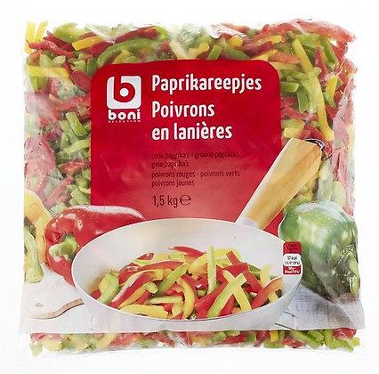 BONI poivrons lanières 1,5kg