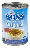 BOSS riz à la crème original cons 400g