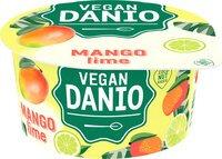 DANONE DANIO vegan mangue-citr.vert 150g