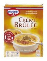 DR.OETKER crème brûlée 2 sachets 200g