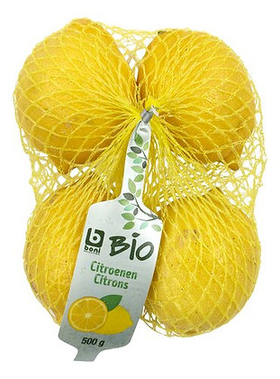BONI BIO citrons 500g