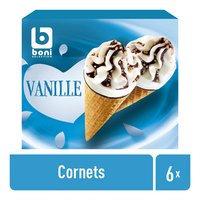 BONI vanille cornet 6x120ml