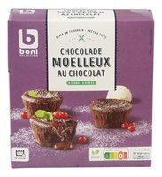 BONI moelleux chocolat 4x90g