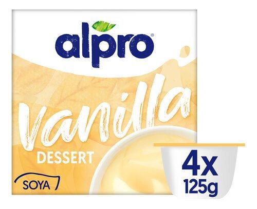 ALPRO sojadessert Simply Vanilla 4x125g