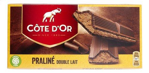 CÔTE D'OR tabl.praliné double lait 200g