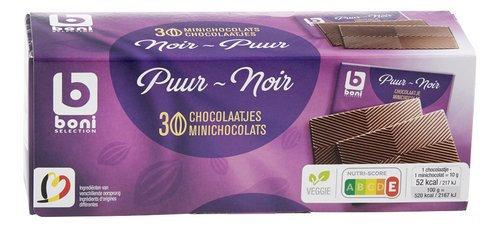 BONI chocolat noir mini 300g
