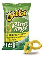 CHEETOS RINGLINGS oignon-f.herbes 125g
