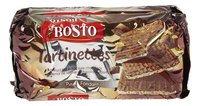 BOSTO tartinettes chocolat noir 90g