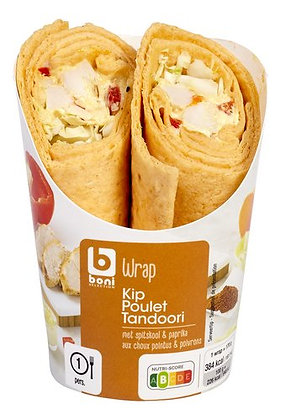 BONI SELECTION wrap poulet tandoori 170g