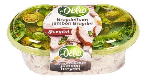 DÉLIO Salade de jambon Breydel 180g