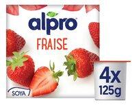 ALPRO fraise 4x125g