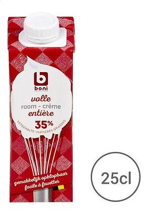 BONI crème fouettable 35%mg brique 25cl