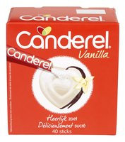 CANDEREL vanilla 40x2g 80g