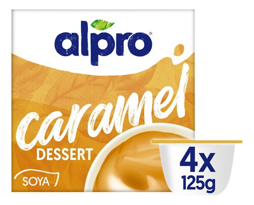 ALPRO sojadessert Dark Chocolate 4x125g