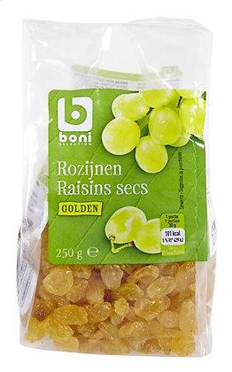 BONI raisins secs Golden 250g