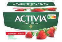 DANONE ACTIVIA yaourt ent.fraise. 4x125g