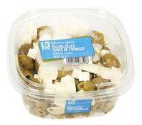BONI olives vertes cubes fromage 400g