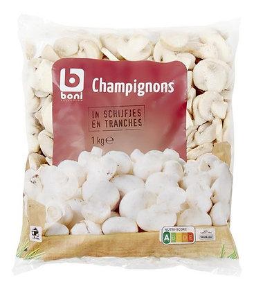 BONI champignons tranches 1kg