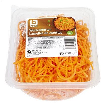 BONI SELECTION ficelles de carottes 200g