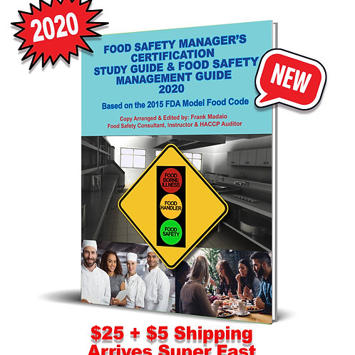 Food Safety Managers' Certification Study Guide