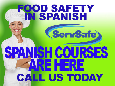 Spanish Food Safety Private Manager's Courses in Westchester Servsafe