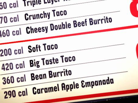 Calorie Labeling on Restaurant Menus New York