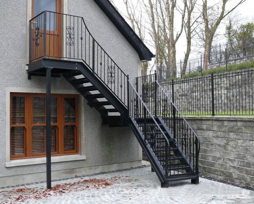 Steel Stairs Leeds