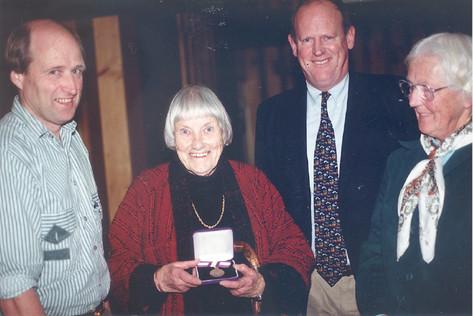 Barbara Swabey Daphne Meyer Ross McPherson
