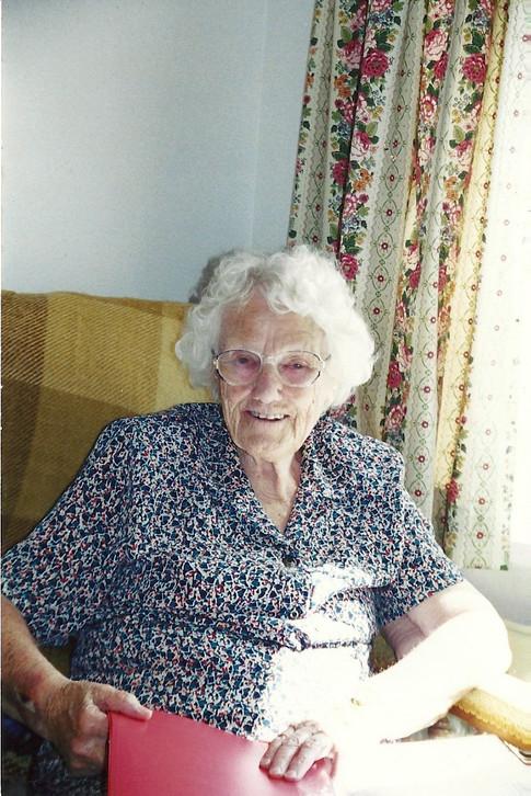 Barbara Swabey Founding and Life Member