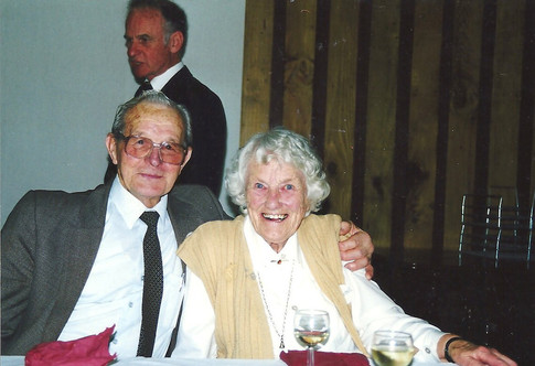 Charles Arcus and Barbara Swabey at OHS 20th Dinner