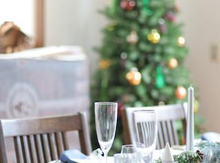 Table de N クリスマスレッスン終わりました。
