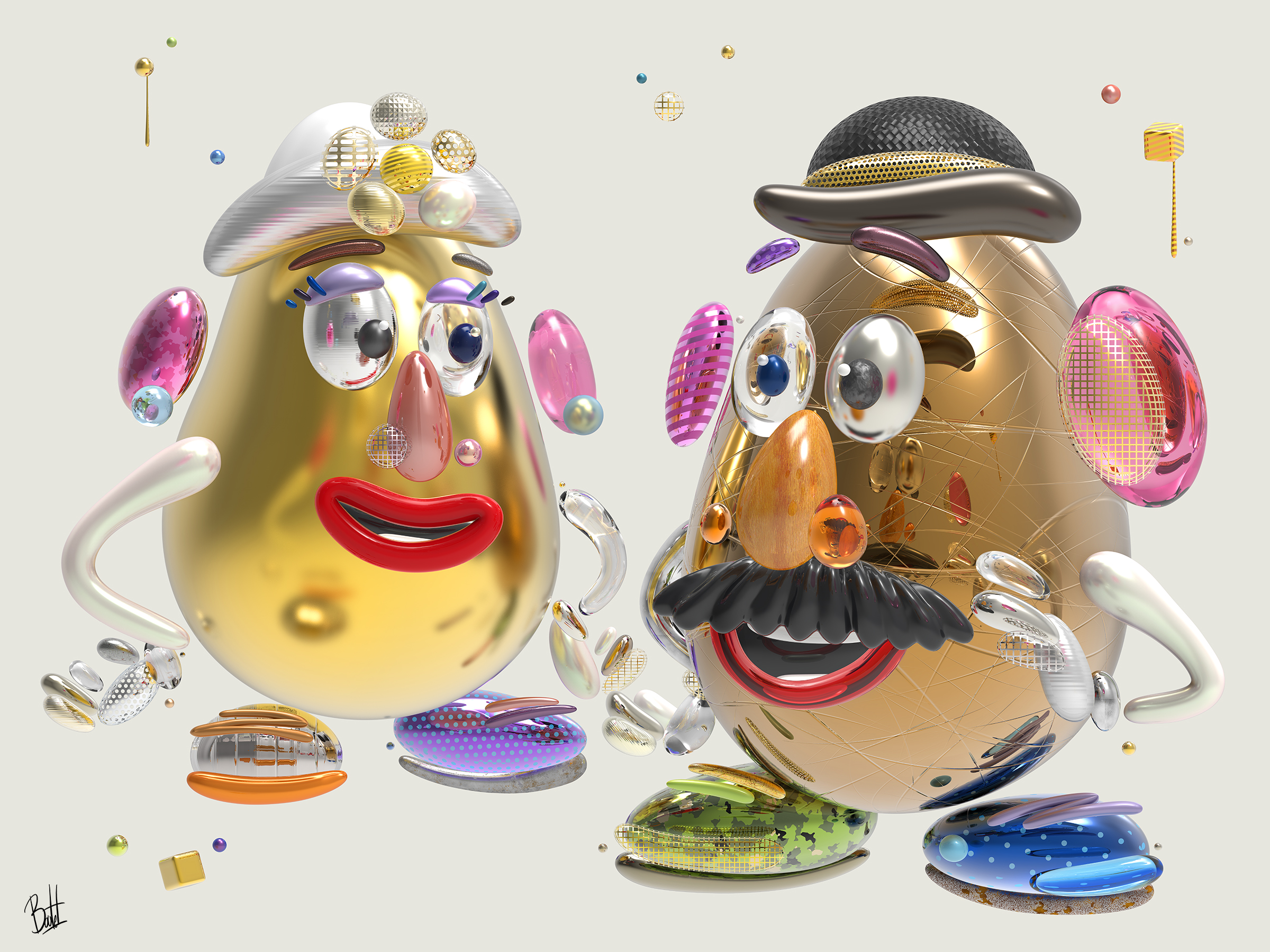 mr-mrs-potato-head-36x48
