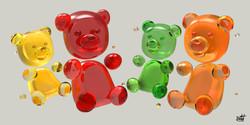 gummy-famille-colore