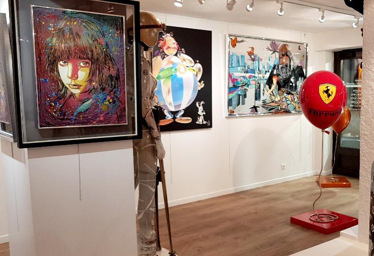 Galeries Saint-Martin, France