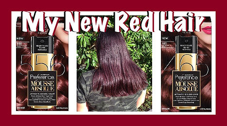 9bbd512a585 My Dark Red Hair! - L'Oreal Preference Mousse Absolue Medium Mahogany Brown