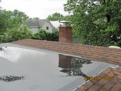 Roof with Big Puddle