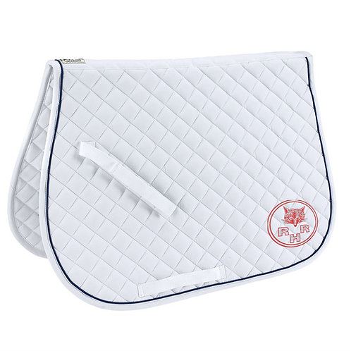 Quilted All-Purpose Piped Saddle Pad