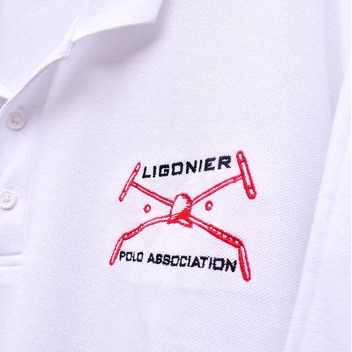 Mens LPA Pique Polo Shirt