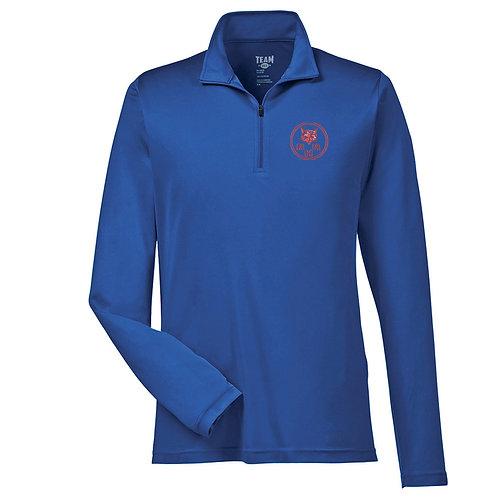 Men's 1/4 Zip Long-Sleeve Shirt