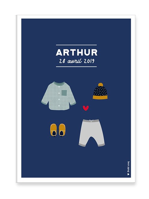 Affiche dressing Arthur