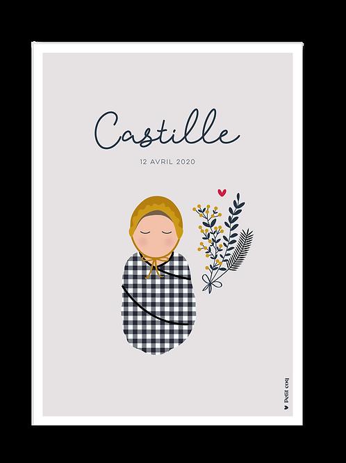 Affiche Jolis poupons - Castille