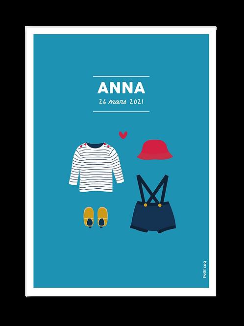 Affiche dressing Anna