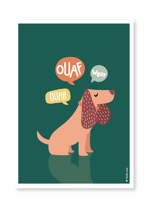 Affiche Ouaf
