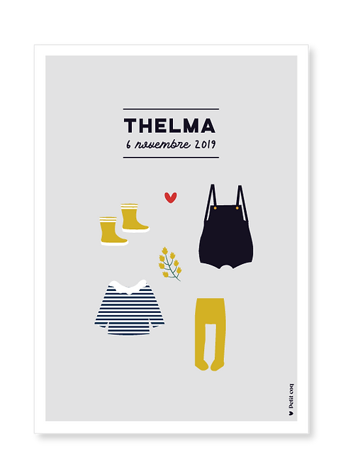 Affiche dressing Thelma